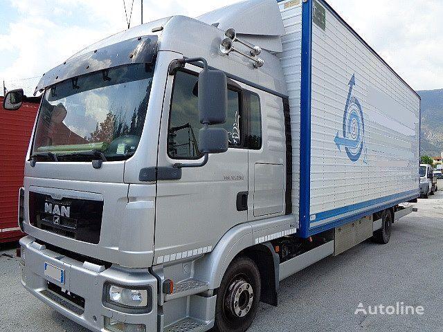 MAN TGL 12.250 E5 FURGONE 8 MT PEDANA IDRAULICA camión furgón