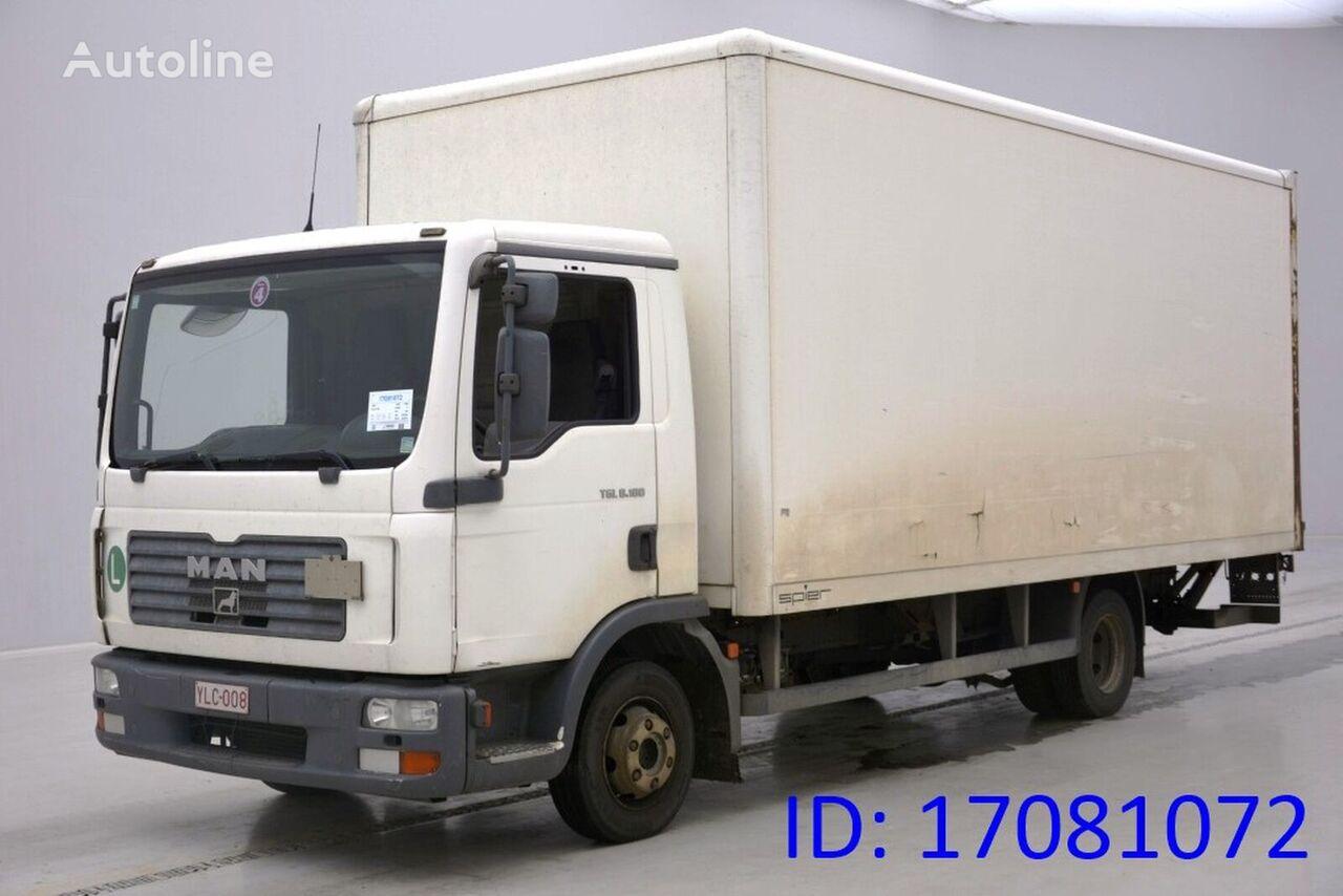 MAN TGL 8.180 camión furgón