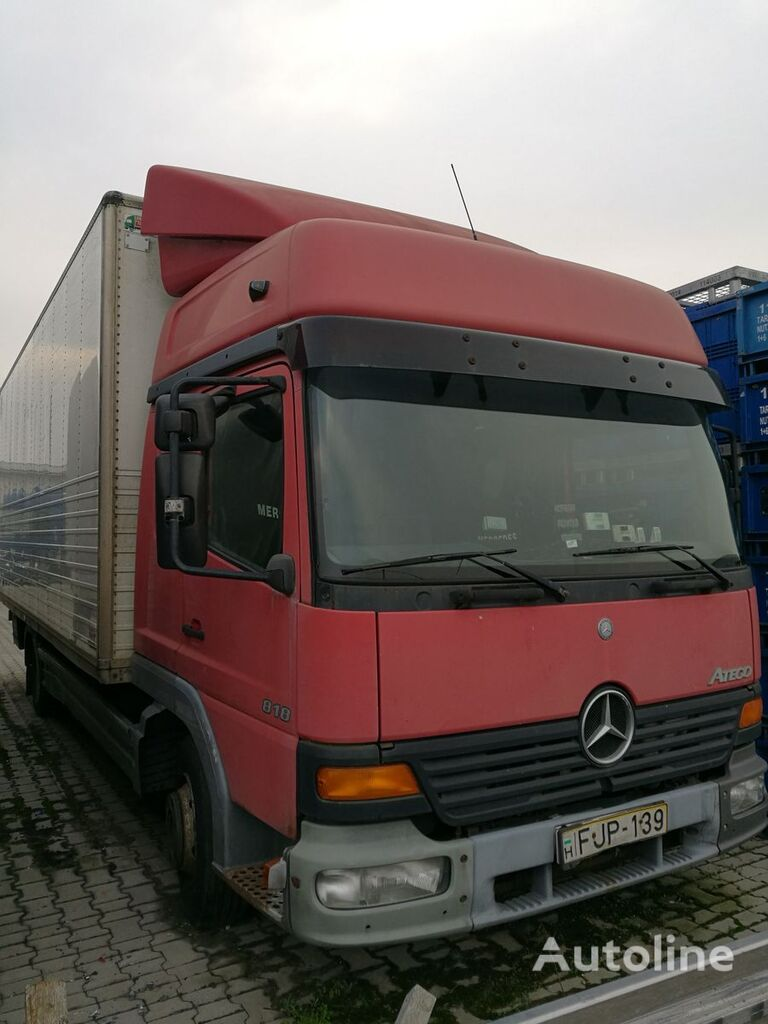 MERCEDES-BENZ ATEGO 818/48 camión furgón