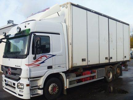 camión furgón MERCEDES-BENZ Actros 2544L