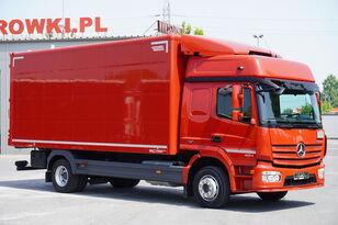 MERCEDES-BENZ Atego 1224, E6, 4x2, 6.10m container, GLOB cabin, retarder camión furgón