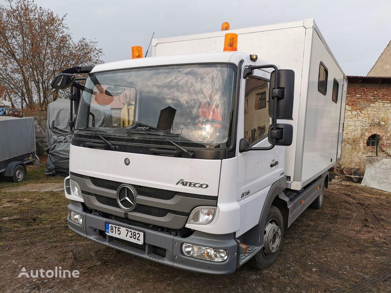 MERCEDES-BENZ Atego 816 camión furgón
