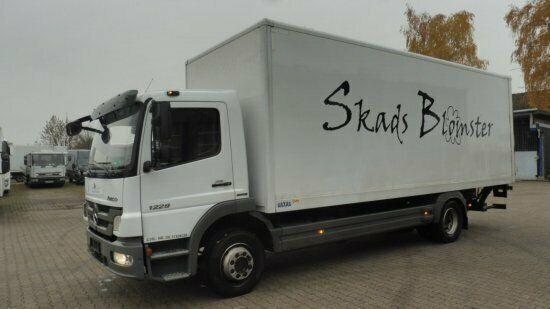 MERCEDES-BENZ Atego III 1229, Klima,  LBW, AHK, Schaltgetriebe camión furgón
