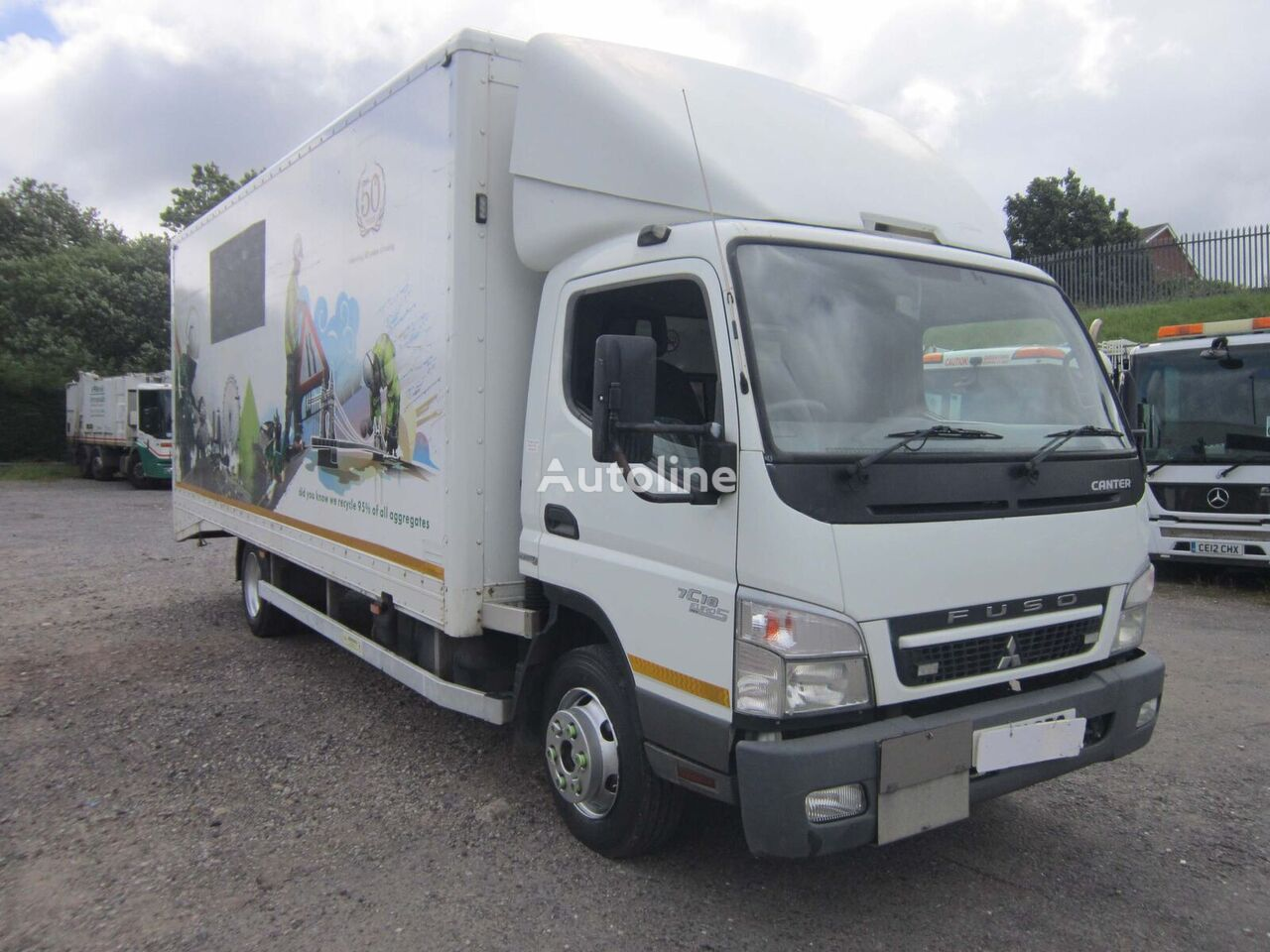 Mitsubishi Fuso CANTER 7C18 4X2 7.5TON BOX VAN C/W ROLLER SHUTTER DOORS camión furgón