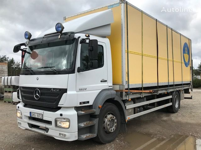 camion isotermo MERCEDES-BENZ 1824L AXOR