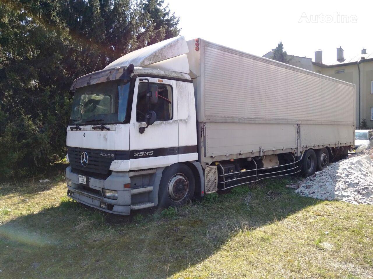camion isotermo MERCEDES-BENZ actros