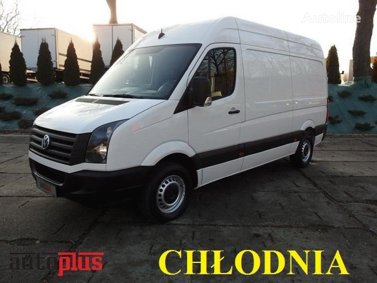 VOLKSWAGEN CRAFTER camion isotermo