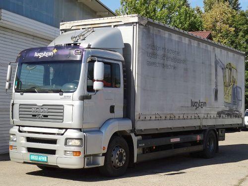 camión lona corredera MAN TGA 18.320