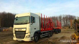 DAF XF 480 camión maderero