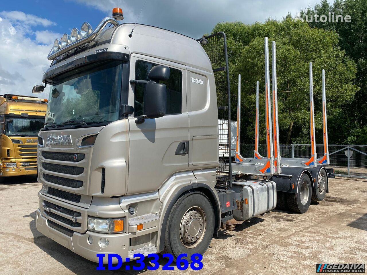 SCANIA R500 6x2 Euro5 camión maderero