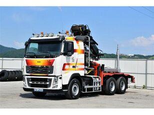 VOLVO FH 16.750  Darus rönkszállító szerelvény camión maderero