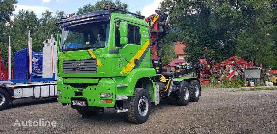 MAN TGA 33.480 6x6 camión maderero