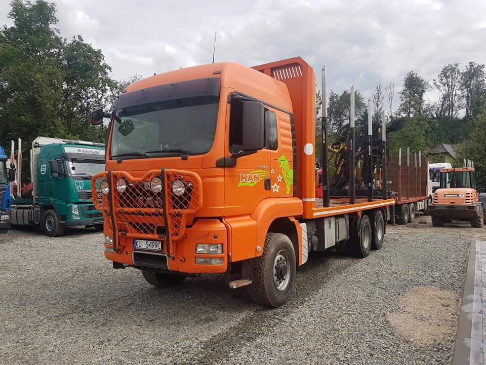 MAN TGS 26.480 6x6,6x4 camión maderero