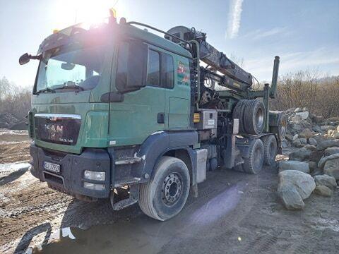 MAN TGS 26.540 camión maderero