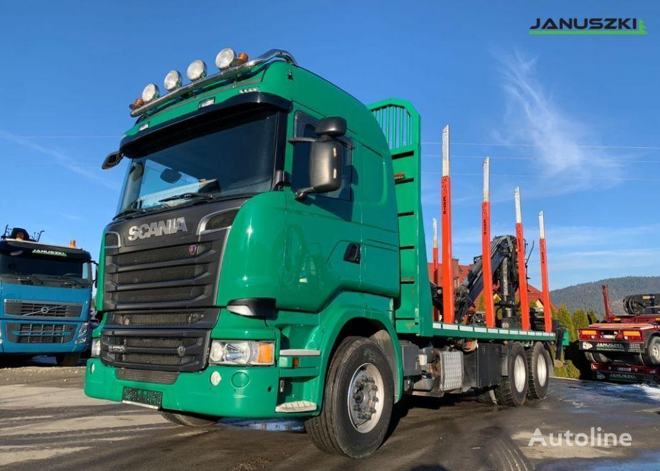 SCANIA R520  camión maderero