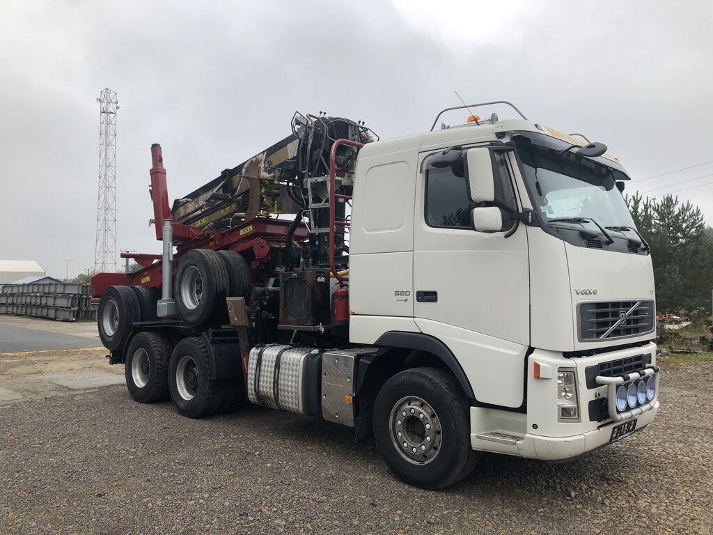 VOLVO FH 13 Dzwig Diebolt do Drewna Sprowadzony  camión maderero