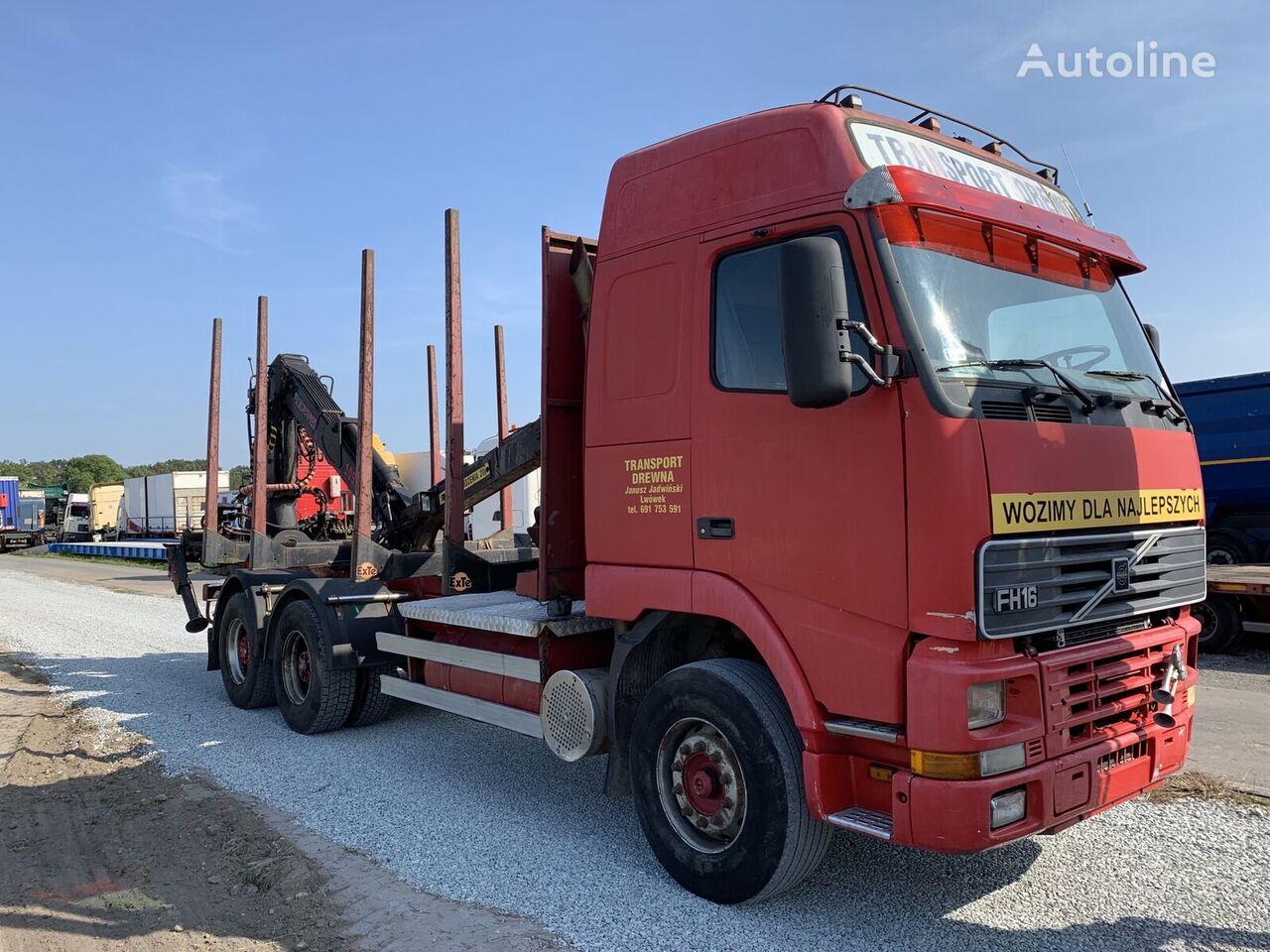 VOLVO FH16 520 6X4  HDS Jonsered 1090 camión maderero