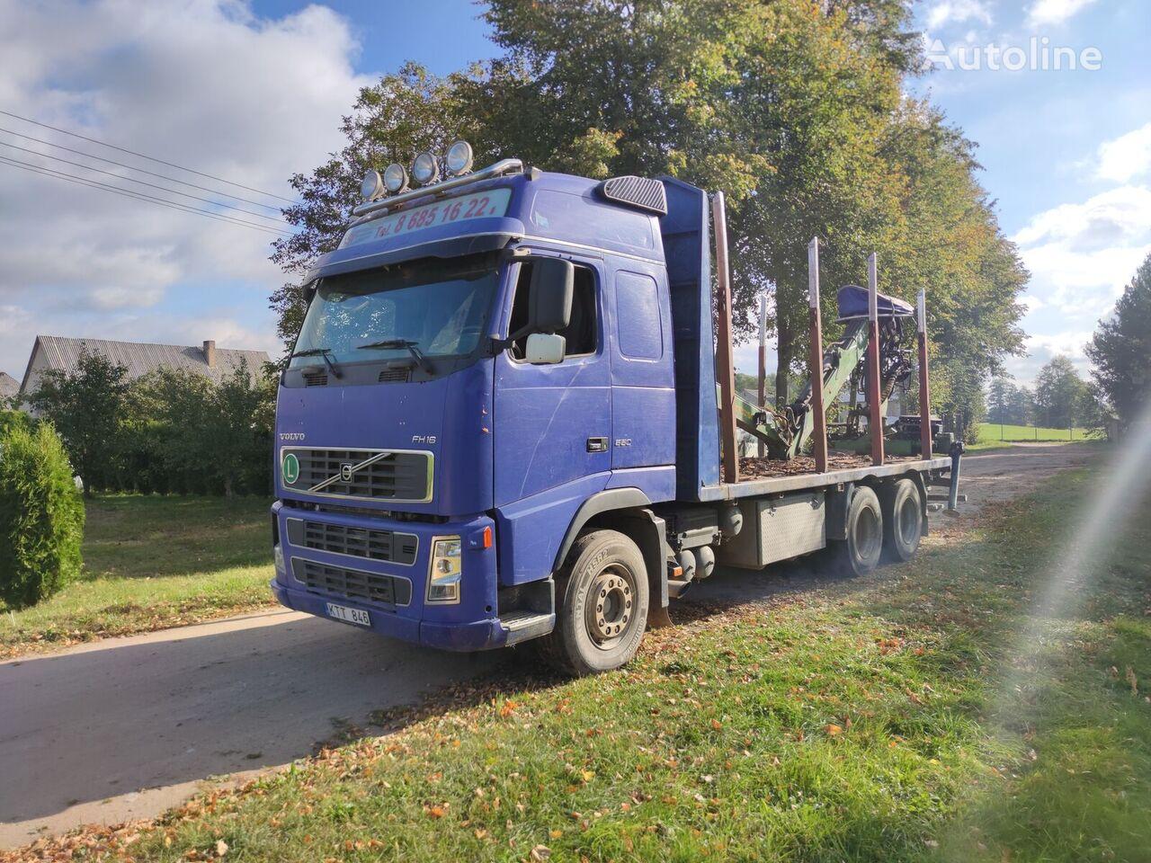VOLVO FH16 550 camión maderero