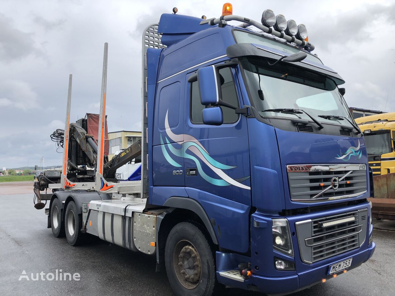 VOLVO FH16 600 camión maderero