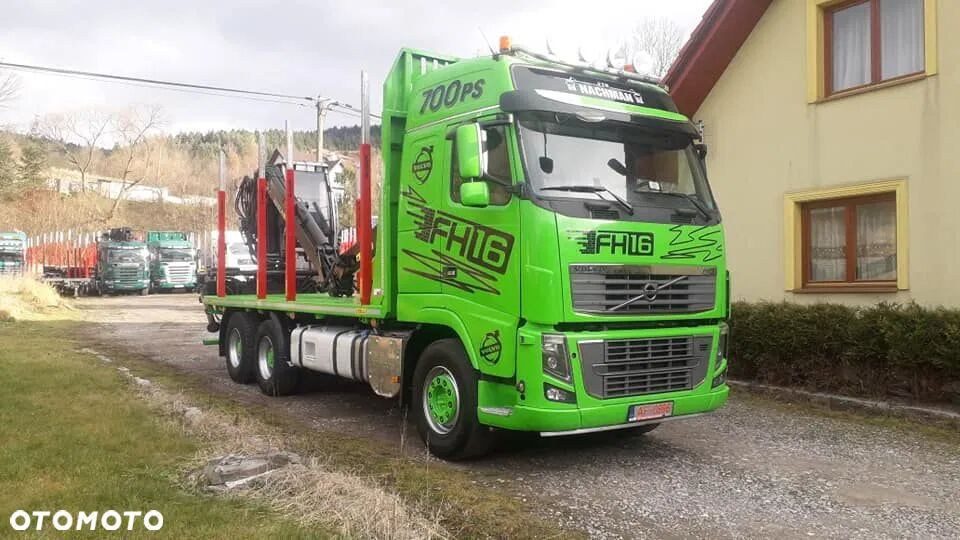 VOLVO FH16 700 6x4 Euro 5 camión maderero