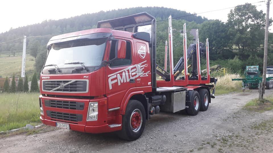 VOLVO FM12 480 PS  camión maderero