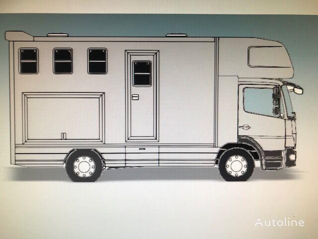 MAN PAARDENVRACHTWAGEN C1 RIJBEWIJS TGL 8 180 3 paards camión para caballos