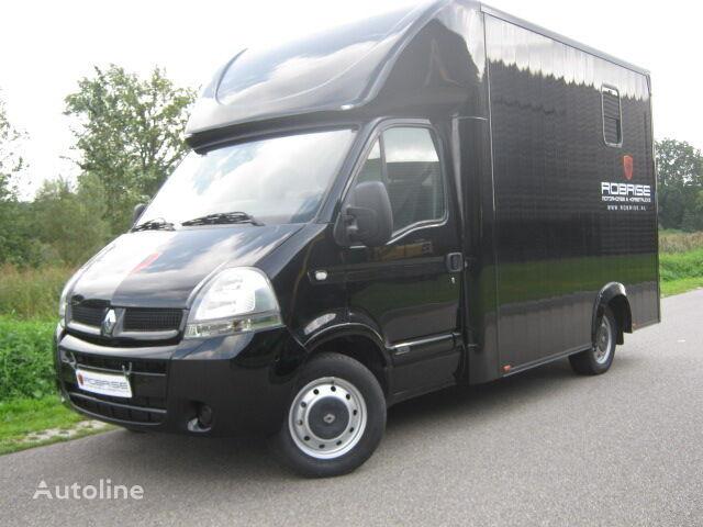 RENAULT MASTER Paardenvrachtwagen B Rijbewijs camión para caballos