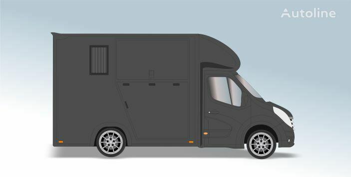 RENAULT Master T35 2.3 dCi L2 Paardenvrachtwagen camión para caballos