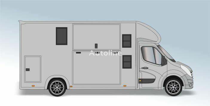 RENAULT Master T35 2.3 dCi L4 Paardenvrachtwagen camión para caballos