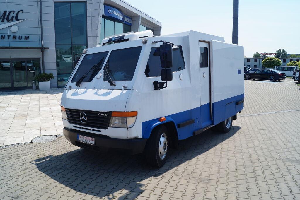 MERCEDES-BENZ Vario 813D,Bankowóz,Klasa  odporności SB4+  camión para transporte de fondos