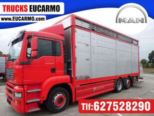 MAN TGA 26 350 camión para transporte de ganado