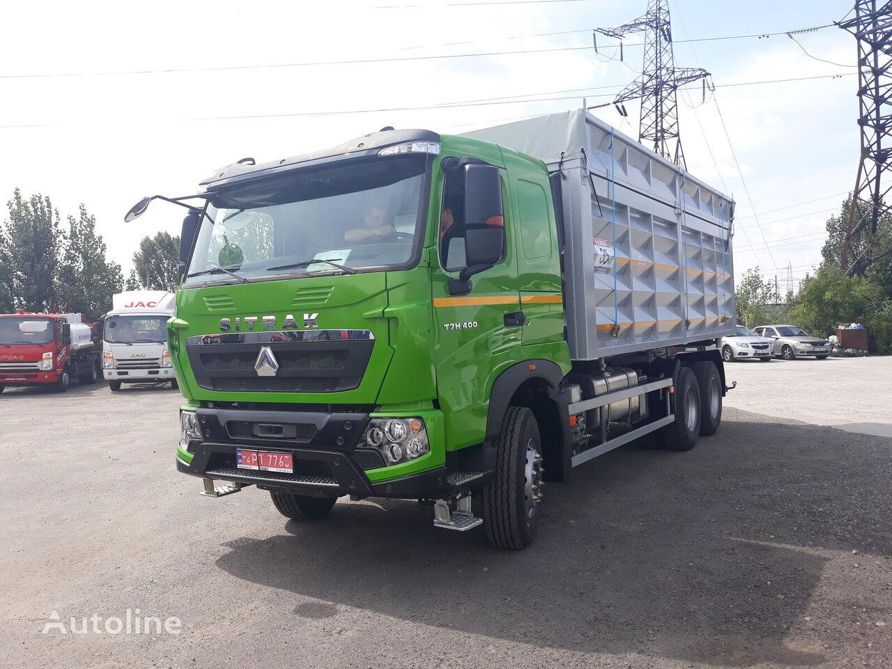 HOWO T7H camión para transporte de grano nuevo