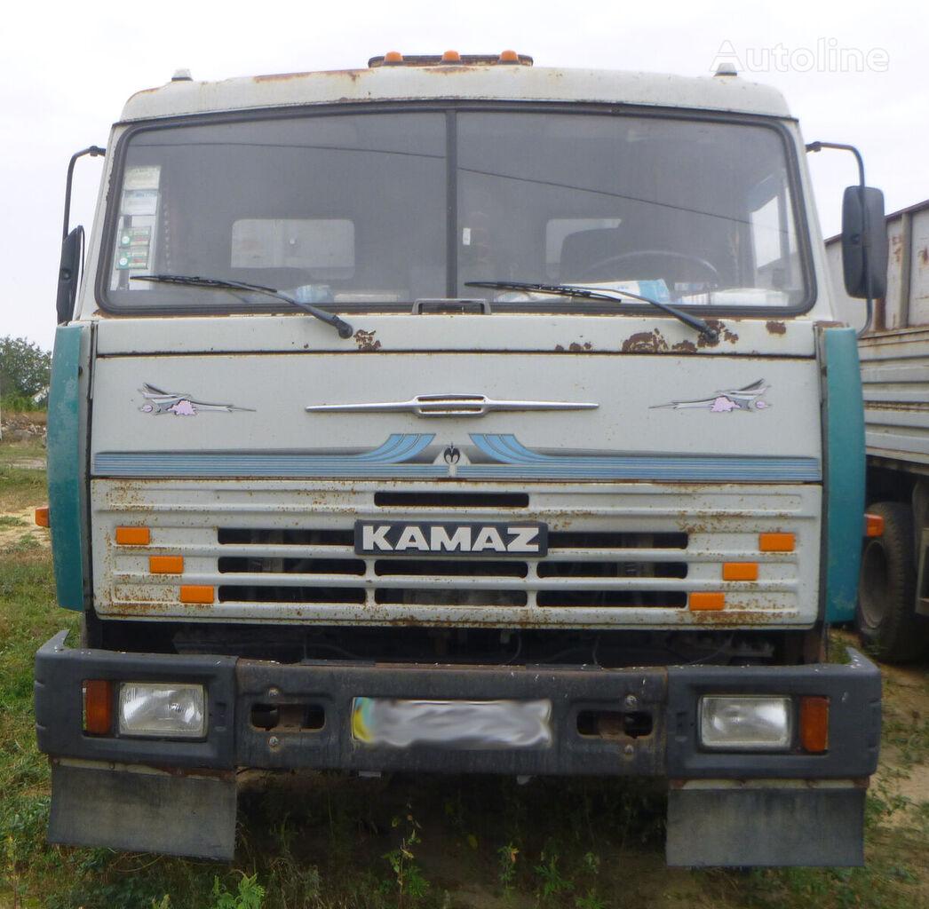 KAMAZ 53215 camión para transporte de grano + remolque para transporte de grano