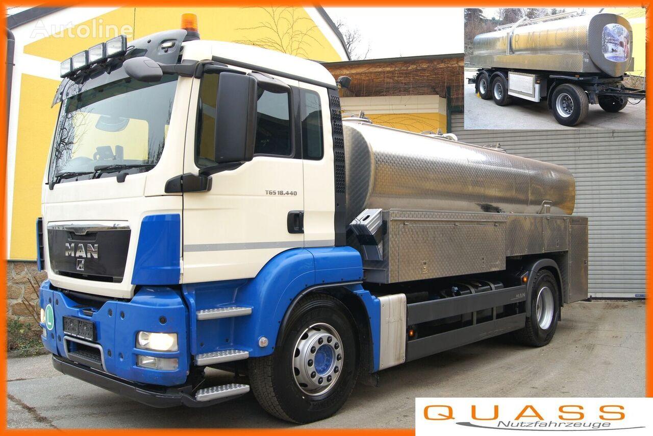 MAN 18.440 BL/E 5/Milch/JANSKY Optimate camión para transporte de leche