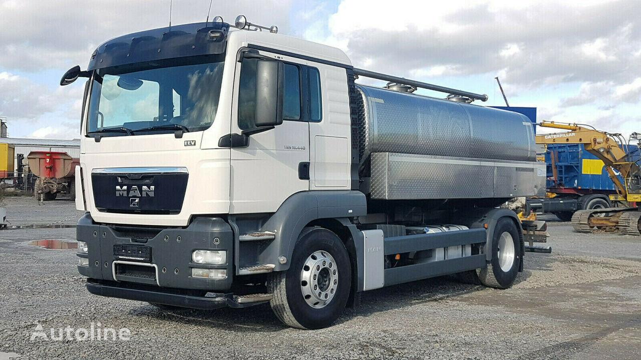 MAN TGS 18.440 4x2 EEV Milchtankwagen Schwarte isoliert 12.000 l camión para transporte de leche