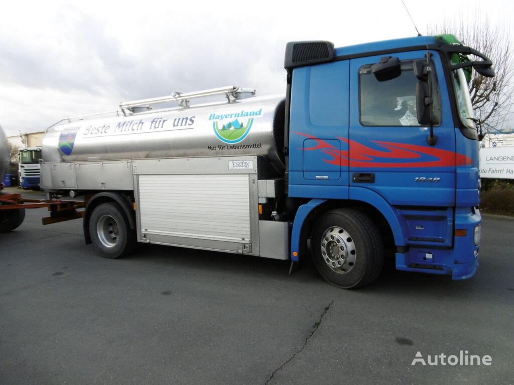 MERCEDES-BENZ 1848 Actros MP II ATM im Fahrzeug (Nr. 4594) camión para transporte de leche