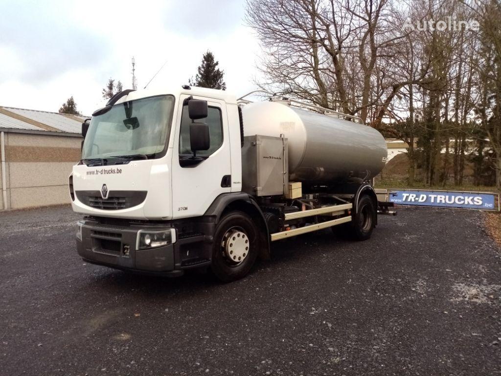 RENAULT citerne ETA alimentaire en inox 2 compartiments camión para transporte de leche