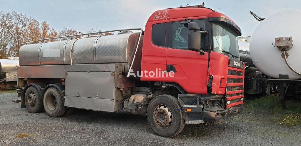 SCANIA 114L 340  camión para transporte de leche