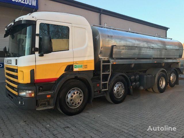 SCANIA 124G 420KM camión para transporte de leche