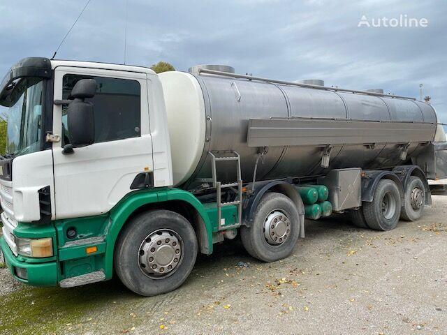 SCANIA 340 camión para transporte de leche