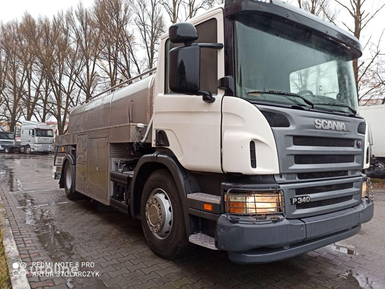SCANIA P340 camión para transporte de leche
