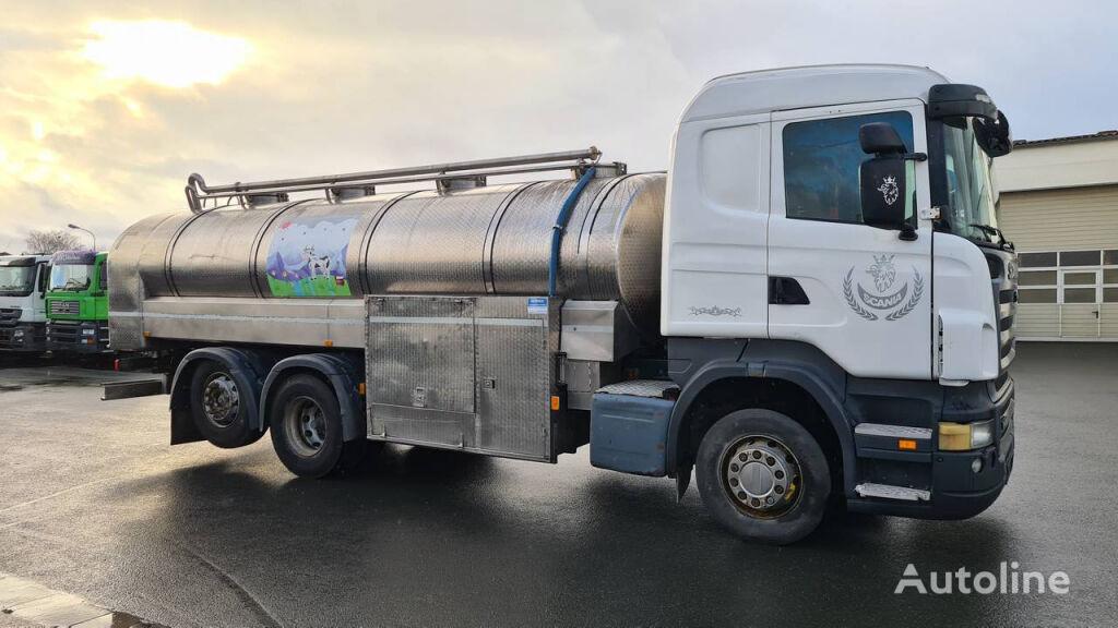 SCANIA R420 LB 6X2 HNB (Nr. 4797) camión para transporte de leche