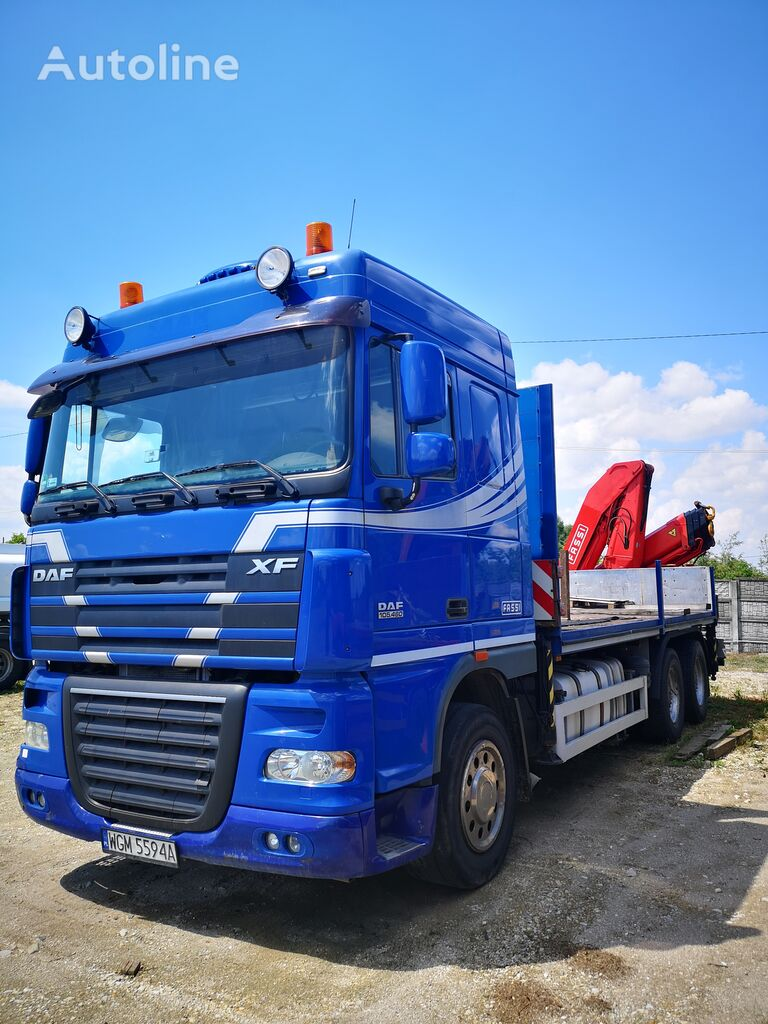 DAF XF 105.460  camión plataforma