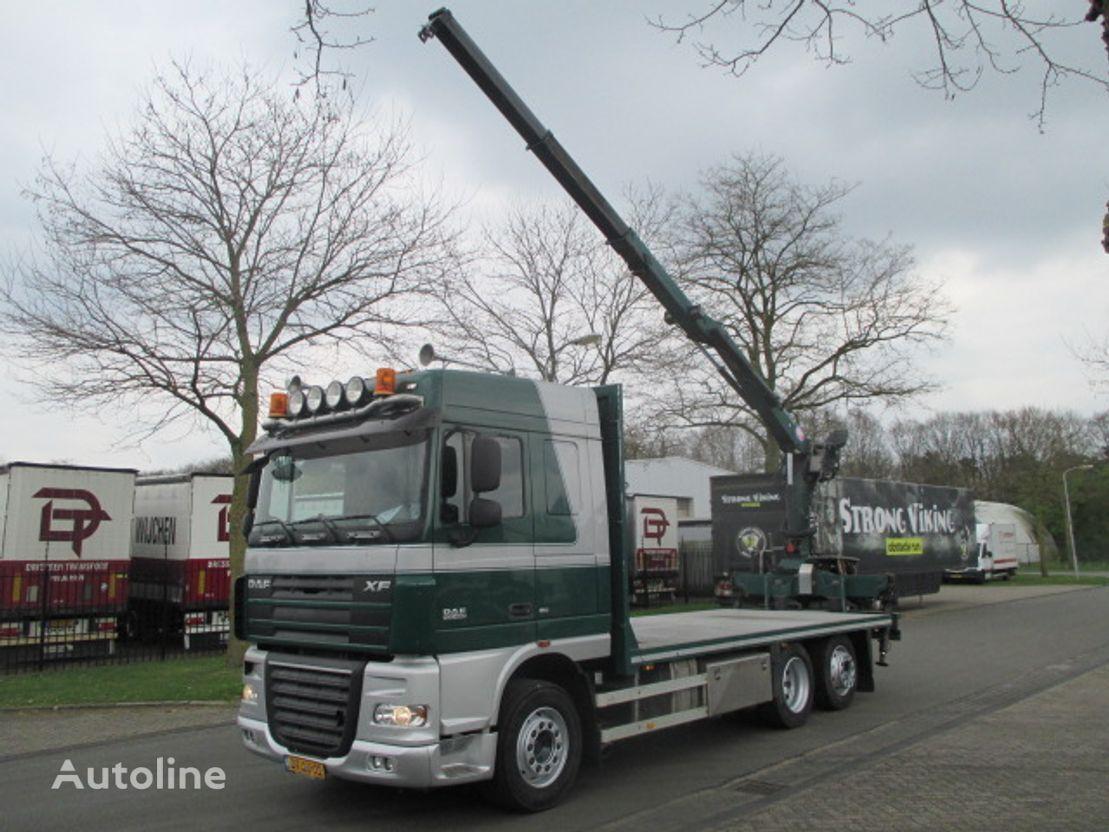 DAF xf  camión plataforma