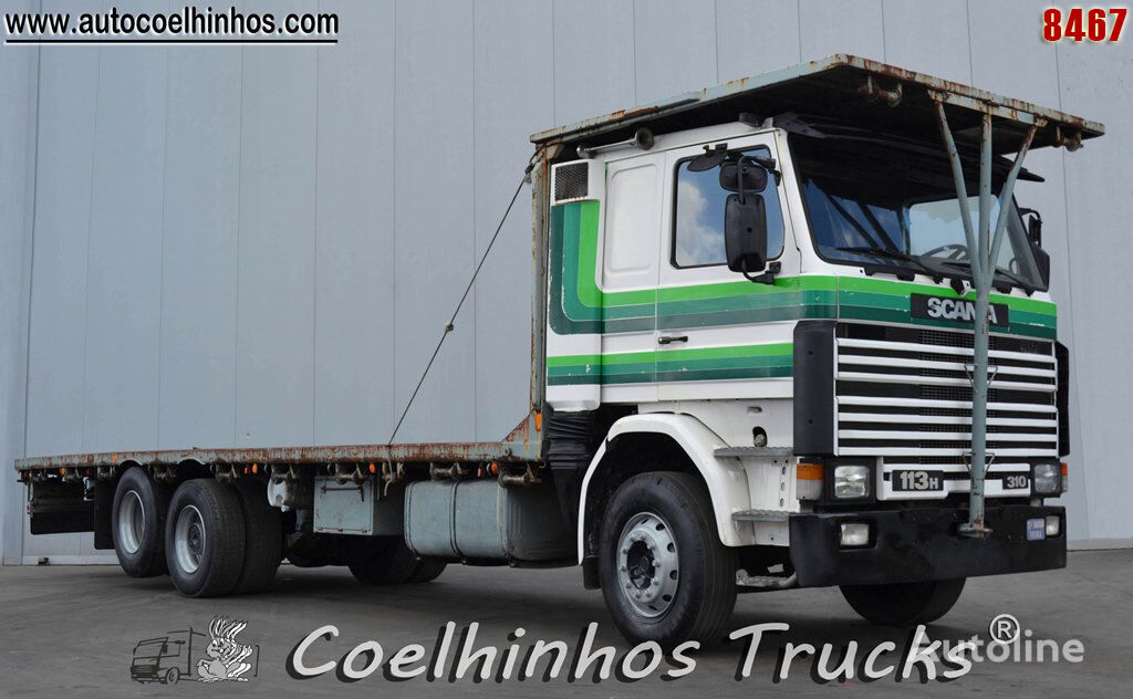 SCANIA 113H 310 camión plataforma