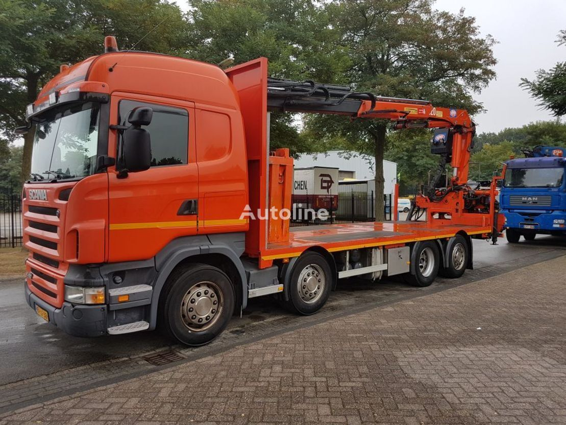 SCANIA r420  camión plataforma