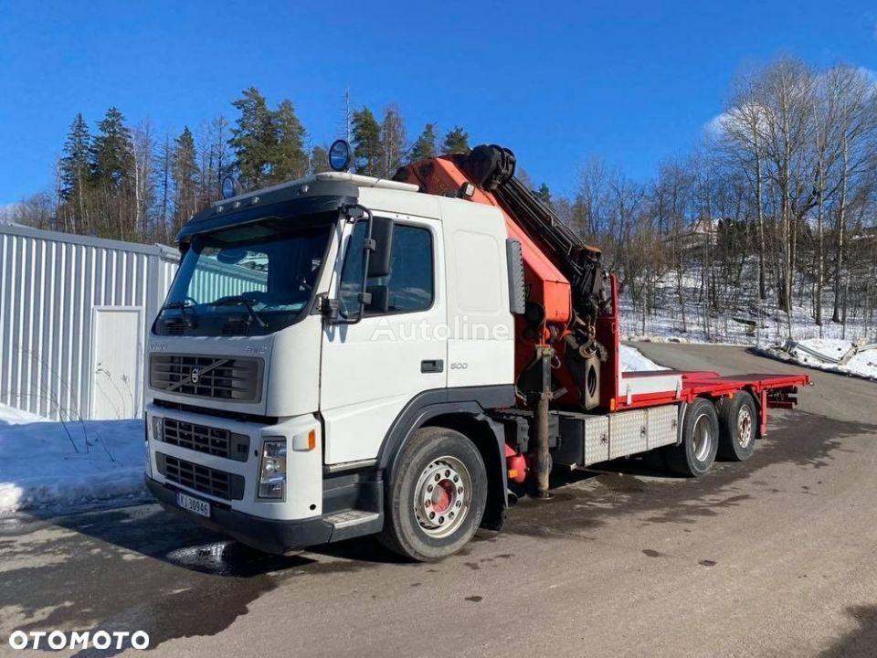 VOLVO FM12 TR.096 camión plataforma