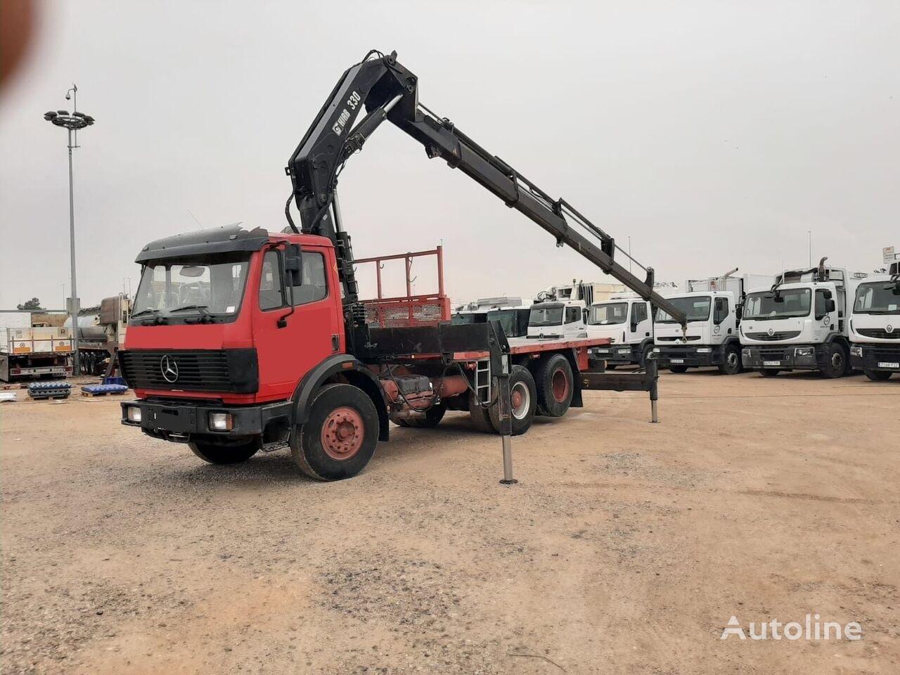 MERCEDES-BENZ camión plataforma