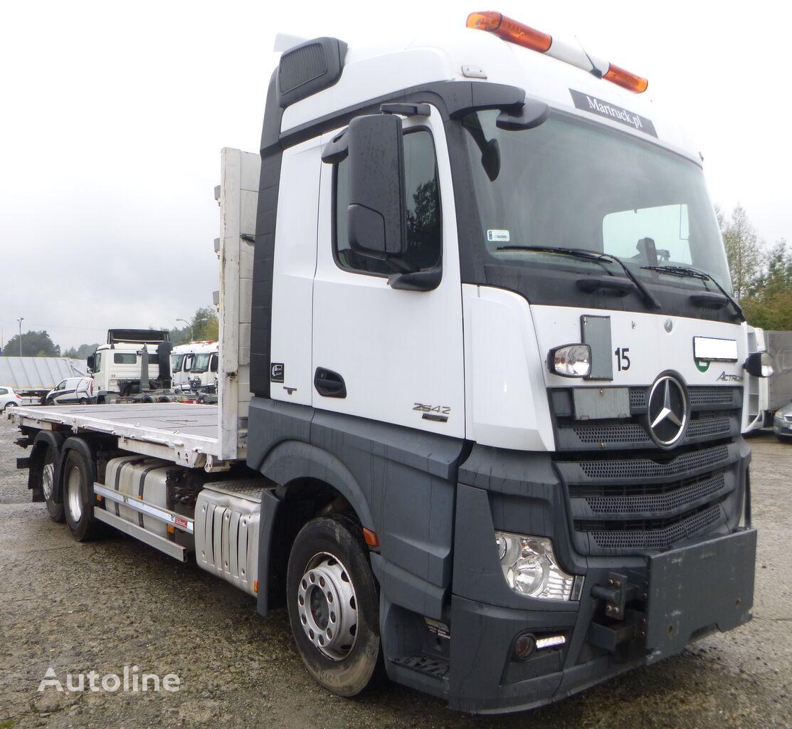 MERCEDES-BENZ Actros 2543 MP4  camión plataforma