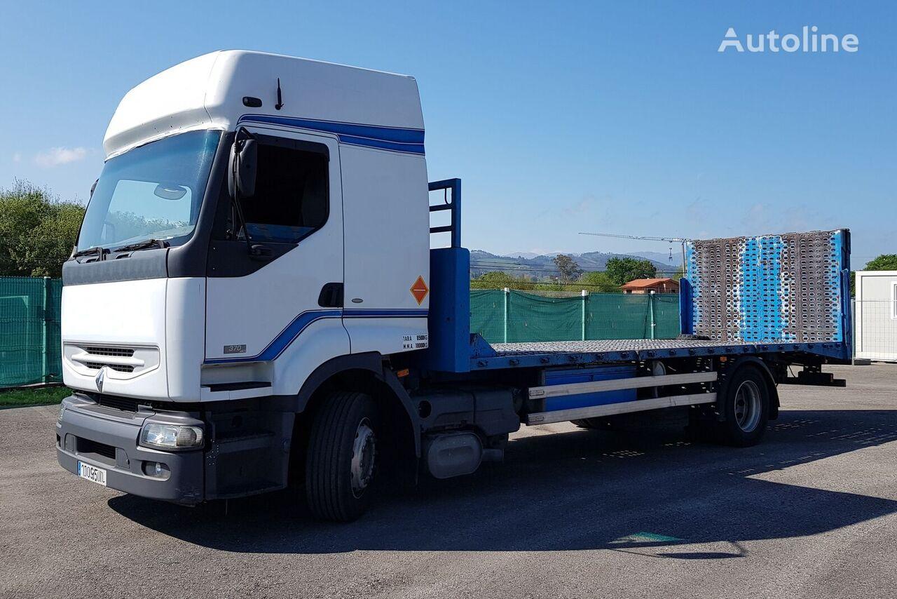 RENAULT 370 camión plataforma